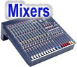 Mixing consoles and powered mixers